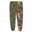 FORTNITE - long pants brush fleece, camouflage