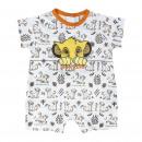 Großhandel Kinder- und Babybekleidung: Lion King - Baby wird Single Jersey , Weiß