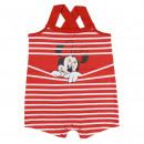 MINNIE - baby grow single jersey, red