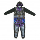 wholesale Fashion & Apparel: FORTNITE - onsie polar fleece, black