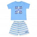 mayorista Ropa bebé y niños: Mickey - pijama corto sencillo Jersey azul