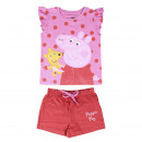 wholesale Licensed Products: PEPPA PIG - short pajamas single jersey, pink