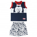wholesale Licensed Products: MICKEY - short pajamas single jersey, navy blue