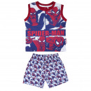 wholesale Sleepwear: SPIDERMAN - short pajamas single jersey, red