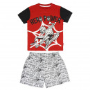 Spiderman - pijama corto sencillo Jersey , rojo