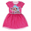 wholesale Fashion & Apparel: LOL - dress tulle single jersey, pink