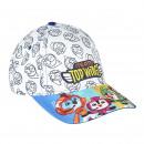 TOP WING - cap premium, 53 cm, grey
