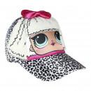 hurtownia Fashion & Moda: LOL - czapka 3d aplicaciones, 53 cm, biała