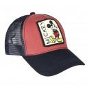 MICKEY - cap baseball, 58 cm, red