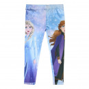 wholesale Trousers: FROZEN - leggins single jersey, blue