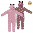 MINNIE - onsie glow in the dark coral fleece, pink