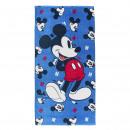 MICKEY - towel cotton, 70 x 140 cm, navy blue