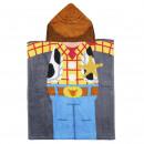 TOY STORY - poncho cotton, 50x115cm, brown