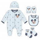 MICKEY - pack regalo single jersey, 1-3 meses, lig