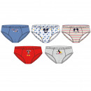 wholesale Underwear: 5 PIECES SHOES PACK Mickey - 6 UNITS