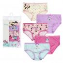 wholesale Underwear: 5 PIECE BRAGUITAS PACK Minnie - 6 UNITS