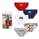 wholesale Underwear: CARS - boxers pack 5 piezas, rainbow