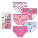 wholesale Underwear: MINNIE - brief pack 5 piezas, rainbow