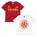 wholesale Shirts & Blouses: EUROCUP - t-shirt single jersey españa
