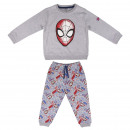 wholesale Sports & Leisure: SPIDERMAN - tracksuit 2 pieces cotton brushed, gra