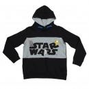 Star Wars - Hoodie Baumwolle gebürstet, schwarz