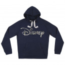 DISNEY - hoodie holographic cotton brushed, blue