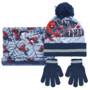 wholesale Scarves, Hats & Gloves: SET 3 PIECES Spiderman - 1 UNITS