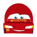 wholesale Garden & DIY store: CARS - hat with applications, one size, red