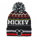 MICKEY - hat jacquard, black