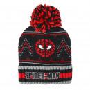 SPIDERMAN - hat jacquard, black