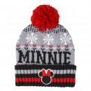 MINNIE - hat jacquard, grey