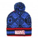 MARVEL - hat jacquard, navy blue