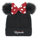MINNIE - hat pompon, one size, black