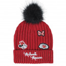 MINNIE - hat with applications, red