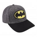 BATMAN - cap premium, 58 cm, grey