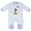 Mickey - algodón de terciopelo para bebé, rosa