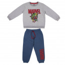 AVENGERS - tracksuit 2 pieces cotton brushed, gray