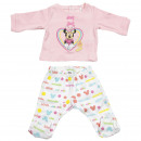 MINNIE - set 2 pieces interlock, pink