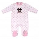 Minnie - baby kweekvelours katoen, roze
