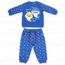 BABY SHARK - tracksuit cotton brushed, blue
