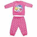 wholesale Fashion & Apparel: BABY SHARK - tracksuit cotton brushed, pink