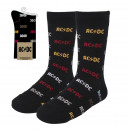 wholesale Stockings & Socks:ACDC - calcetines, black