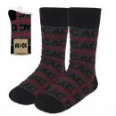 wholesale Fashion & Apparel: ACDC - calcetines, dark gray