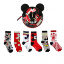 MICKEY - socks pack 6 pieces, red
