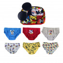 MICKEY - boxers pack 6 pieces, white