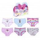 MINNIE - brief pack 6 pieces, pink