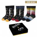 HARRY POTTER - socks pack 3 pieces, one size (40-4