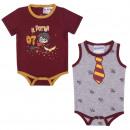 ingrosso Ingrosso Abbigliamento & Accessori: HARRY POTTER - pack regalo 2 pezzi singolo jersey