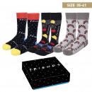 wholesale Fashion & Apparel: FRIENDS - socks pack 3 pieces, one size (35-41), m