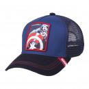 MARVEL - czapka premium, 58 cm, niebieska